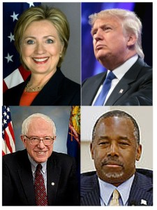 Leading presidential candidates