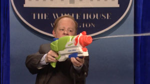 Melissa McCarthy is Sean Spicer