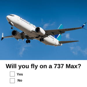 Will you fly on a 737 Max? | David PR