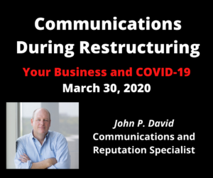 communications during restructuring