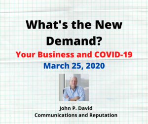 What's the New Demand?